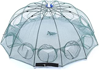Zorbes Ultralight 12 Side Bait Fishing Crabs Net Angling Outdoor Appliance