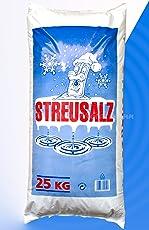 Streusalz 25 kg, Grundpreis 0,40 Euro/kg