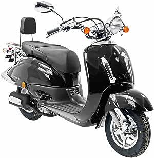 flex tech motorroller retro firenze 50 ccm 45 km h auto. Black Bedroom Furniture Sets. Home Design Ideas