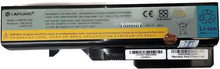 Lapcare Lenovo Ideapad G460 G560 Z560 Compatible Laptop Battery