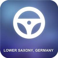 Niedersachsen, Deutschland GPS