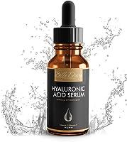 Serum de Ácido Hialurónico 1oz - Crema Orgánica Hidratante Facial Antienvejecimiento con Vitamina C y Vitamina E para...