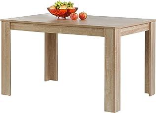 CARO Möbel Esstisch Tijuana Esszimmertisch Küchentisch In 3  Farbausführungen, 120 X 80 Cm (