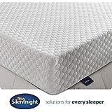Silentnight 7 Zone Memory Foam Rolled Mattress, Made in the UK, Medium Firm, UK King