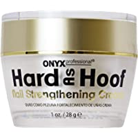 Hard As Hoof Nail Strengthening Cream - Cherry Almond Scent - Nail Strengthener & Nail Growth Cream Stops Splits, Chips…
