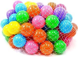Advancedestore Colourful Cricket Plastic Ball for Children 12
