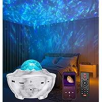 Projecteur Ciel Étoilé, Amouhom Veilleuse étoile Lampe de Rotatif Vidéo Projecteur de Nuage, Veilleuses Télécommandées…