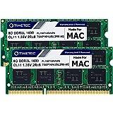Timetec Hynix IC Apple 16GB Kit (2x8GB) DDR3L 1600MHz PC3L-12800 SODIMM Memory upgrade For MacBook Pro13-inch/15-inch Mid 201