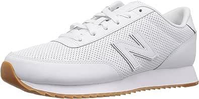 New Balance Men's 501v1 Ripple Lifestyle Sneaker, White, 6.5 D US