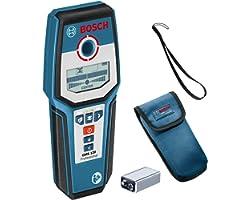 Bosch Professional Regeldetektor GMS 120 (max. Detekteringsdjup trä/magnetisk metall/icke-magnetisk metall/strömförande kabel
