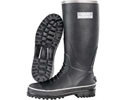 Wading Boots Heavy Duty Rubber Waders Tall Rain Boots, Waterproof Muck Footwear not PVC for Farming, Fishing and Duck Hunting