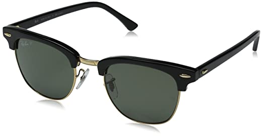 ray ban 49  Ray Ban - Clubmaster - Lunettes de soleil Homme, 901/58, 49 mm ...