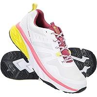 Mountain Warehouse Accelerate Womens Waterproof Running Shoes - Mesh Upper Hiking Footwear, EVA Cushioned, Phylon…