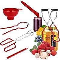 Maxjaa L'ensemble d'outils de mise en conserve de 6 pièces comprend un entonnoir, un lève-bocal, une clé pour bocal, un…