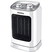 FOCHEA Radiateur Soufflant Céramique 1800W Chauffage Soufflant & Ventilateur Instant Comfort à Oscillation avec Thermostat, Sliencieux, Protection Contre la Surchauffe et Chute