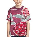 CCANE7 Camiseta Divertida Kid's Todd Rundgren Something Anything Camiseta de Manga Corta Impresa en 3D de diseño para niñas y