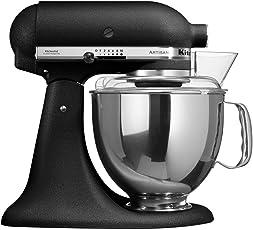 KitchenAid 5KSM150PSEBK mixer - mixers (Black, Stainless steel, Stainless steel, 50/60 Hz, Stainless steel)