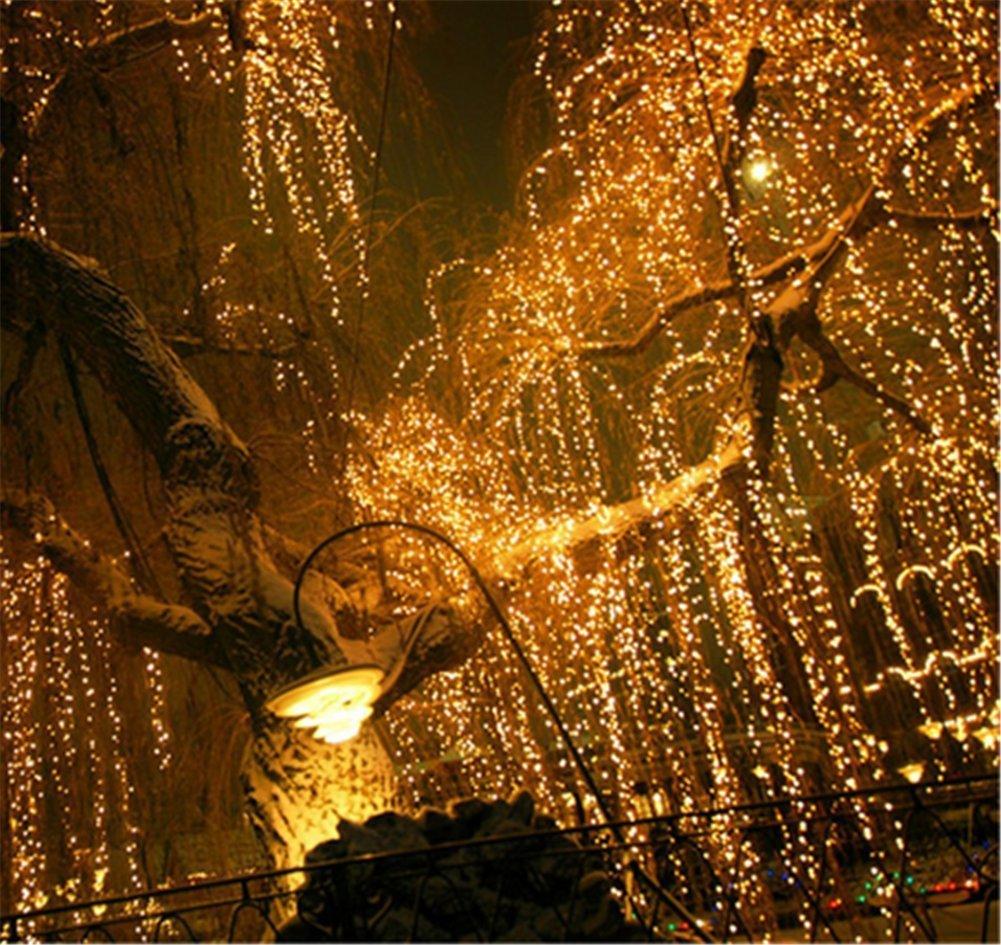Weihnachtsdeko Lichter Innen.216 Led 5m Eisregen Eiszapfen Lichter Led Lichtervorhang Lichter Weihnachtsdeko Weihnachtsbeleuchtung Deko Christmas Innen Und Aussen Led String