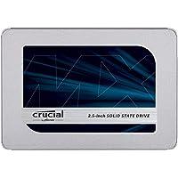 Crucial MX500 250GB CT250MX500SSD1(Z)-bis zu 560 MB/s (3D NAND, SATA, 2,5 Zoll, Internes SSD)