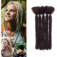 15cm-Extension Dreadlock Corti Leggere Rasta Dread Braiding Hair Treccine per Uomo Donna Capelli Finti per Treccia…