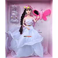 Shopme Store MOVEABLE Doll House for Girls / Doll Set with hat Sets of Fashion Accessories /Heels/Toy Accessories…