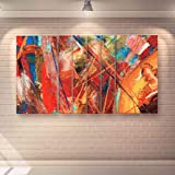 Casperme Engineered Wood Wall Painting, Multicolor, Modern, 60 x 36 inches