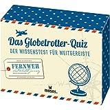 Das Globetrotter-Quiz: Der Wissenstest für Weitgereiste | Riesen-Weltkarte als Kartenrückseiten-Puzzle
