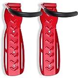Schramm® 2 stuks fietshouder wandmontage in 6 kleuren selecteerbare Fietshouder voor 2 fietsen wandmontage wandmontage wandmo
