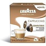 Lavazza Epresso Cappuccino, 6 Confezioni da 16 Capsule (96) - Compatibili Nescafè Dolce Gusto