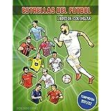 Estrellas del fútbol (Libro de colorear): Libro de colorear con los mejores jugadores del fútbol mundial (Goaloring books)