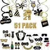 Fuck 2020 Luftballons Silvester Neujahr Bunt Dekoration Kit Party Gold Gold Fest Wonderful MonkeysSelfie Silber Dekoration Dekoration Goldenes Zubeh/ör Balloons Silver Original