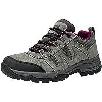 riemot Walking Shoes Mens Womens, Fully Waterproof Outdoor Hiking/Trekking Climbing Shoes Approach Shoes Lightweight…