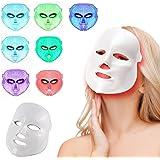 LED Photon Therapy 7 couleurs faciales traitement de la lumière beauté soins de la peau rajeunissement beauté masque facial soin visage anti-âge masque de beauté