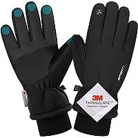 Guanti Invernali, Guanti da Ciclismo Invernali per Uomo Donna, Guanti Moto Caldi Touch Screen Antivento Gloves Guanti…