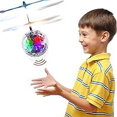 Geschenke für Teen Jungen Mädchen, TOP Geschenk RC Flying Ball Hubschrauber Spielzeug für 3-12 Jahre alte Mädchen TGUKTGFLB06