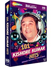 Music Card: 101 Kishore Kumar Hits Ultimate Collection of Solos & Duets (8 GB)