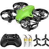 Potensic Mini Drone para Niños, Drone A20 Quadcopter con Control Remoto, Un Botón de Despegue y Aterrizaje, Modo sin Cabeza,
