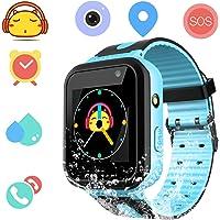 Orologio intelligente impermeabile per bambini per ragazze - IP67 Impermeabile Smartwatch per bambini con GPS/LBS…