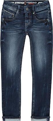 Vingino Jungen Boys Jeans Hose Skinny fit Alfons Blue Vintage