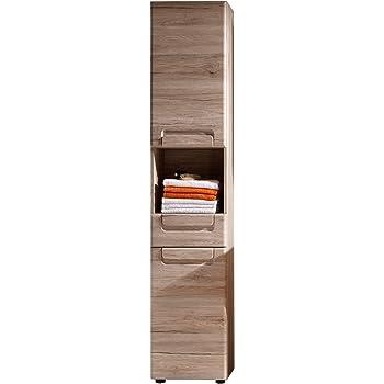 Trendteam Smart Living Badezimmer Hochschrank Schrank Malea 37 X