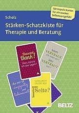 Stärken-Schatzkiste für Therapie und Beratung: 120 Karten mit 16-seitigem Booklet in stabiler Box, Kartenformat 15,2 x 10,7 cm