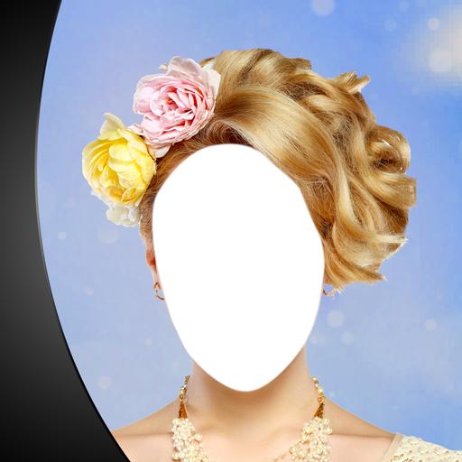Hochzeits-Haar-Foto-Montage - Kronen Elegante