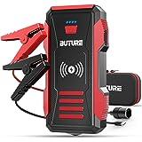 BuTure Booster Batterie, 2500A 23800mAh Démarrage de Voiture (Tout Gaz ou 8,0 L Diesel), Chargeur sans Fil10W et…