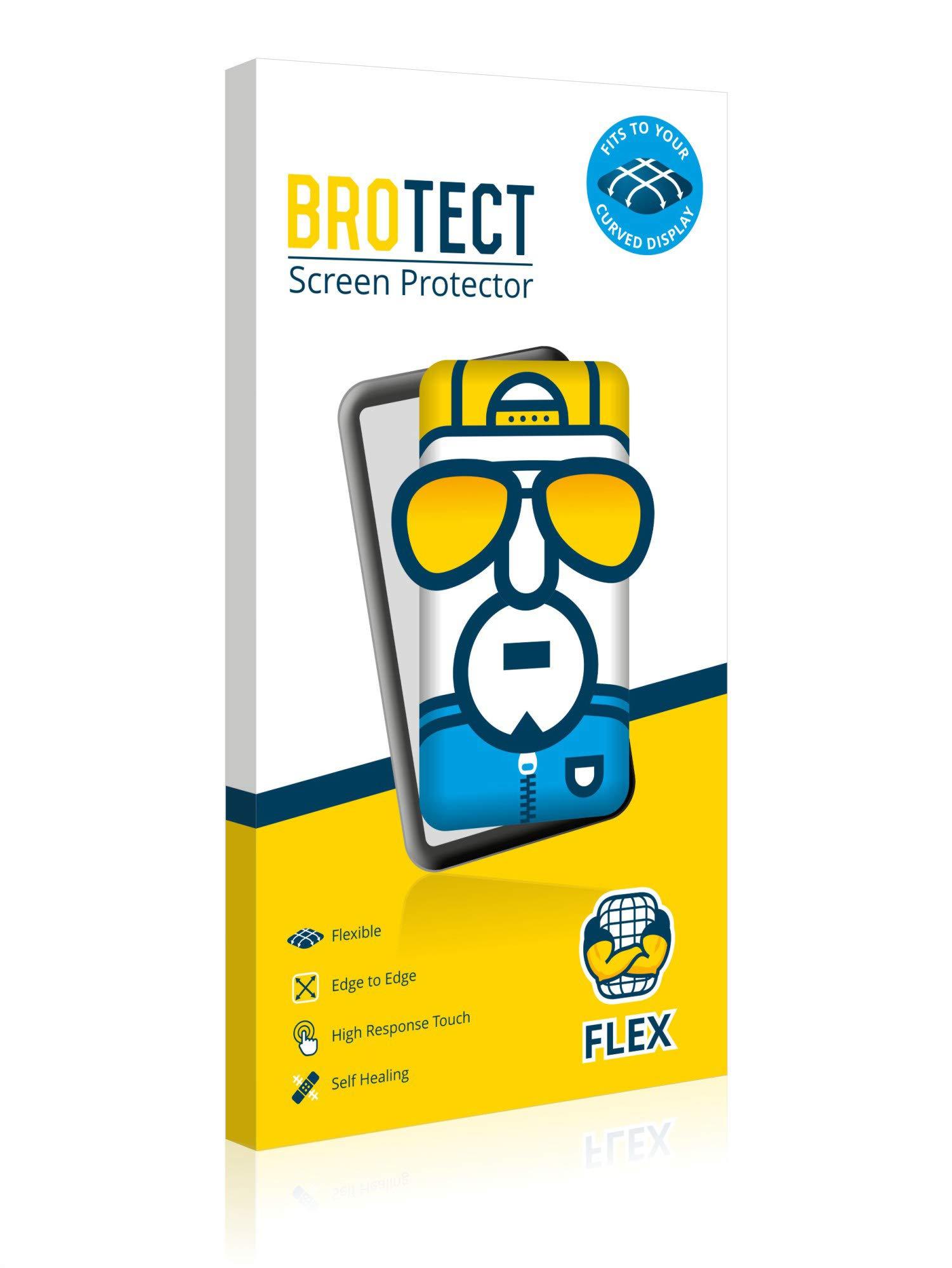 BROTECT Protector Pantalla Completa Compatible con Willful Fitness Tracker SW352 (2 Unidades) 3D Curvo 3