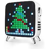 Divoom Tivoo Max 2.1 LED Bluetooth Lautsprecher mit Mehrfarbiger LED Anzeige, 10000mAh 40W Musikbox, Smart Digital lichtwecke