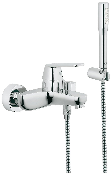 grohe 32837000 eurosmart cosmopolitan single lever shower mixer grohe 32837000 eurosmart cosmopolitan single lever shower mixer amazon co uk diy tools