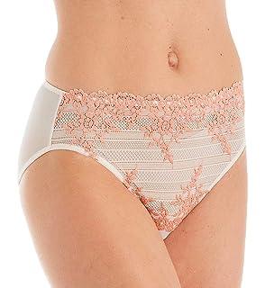 Wacoal Embrace Lace Briefs Purple Lavender Size UK L New Free P/&P UK Seller