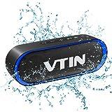 VTIN R4 Cassa Bluetooth 10W Altoparlante Bluetooth 24 Ore Playtime,Bluetooth 5.0 Speaker Portatile Connessione Stabile,Batter