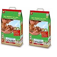 Cats Best Organic Cat Litter, 10000 ml (Pack of 2)