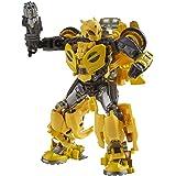 Transformers Toys Studio Series 70 Deluxe Bumblebee B-127 actionfigur, 8 och högre, 11,4 cm